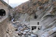 Das Dotierkraftwerk Urnerloch wird Restwasser zur Stromproduktion nutzen. (Bild: Visualisierung PD)