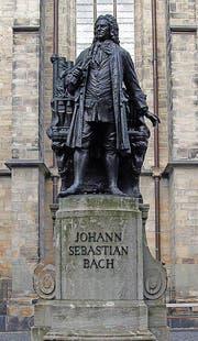 Der Meister des Barocks fasziniert mehr denn je. Bach-Denkmal in Leipzig. (Bild: Andreas Faessler)