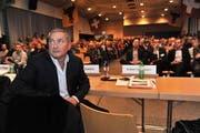 Samih Sawiris nahm an der Bevölkerungsorientierung teil. (Bild: Urs Hanhart / Neue UZ)