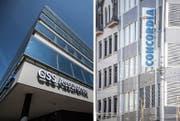Hauptsitz der CSS und Concordia in Luzern. (Bilder: LZ)