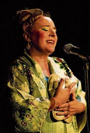 Bruna Guerriero als die alternde Diva Simona. (Bild: PD)