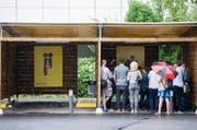 Am Samstag wurden die Boxen in Zürich für Gwundrige geöffnet. Ab Montag ist die Anlage in Betrieb.