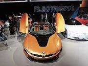 Audis Elektro-Roadster i8. (Bild: tg)