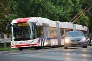Das Gesamtverkehrskonzept setzt auf weniger Autos und mehr Busse. (Bild: Eveline Beerkircher / Neue LZ)