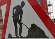 Die Baudirektion Uri kündigt für die nächsten Wochen Bauarbeiten an der Morgartenstrasse in Oberägeri an. (Symbolbild LZ)