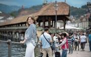 Von Lausanne über Singapur nach Luzern: Ellinor Thelander lebt erst seit ein paar Jahren in der Stadt Luzern. (Bild: Pius Amrein (11. Juni 2017))