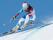 WM-Gold bei den Juniorinnen: Corinne Suter (Bild: Keystone)