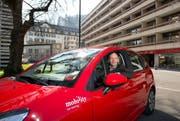 Mobilty (auf dem Bild Finanzchef Sigfried Wanner) zieht von Rotkreuz nach Luzern. (Bild Dominik Wunderli)