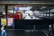 Auch wenn am Bahnhof nicht mehr viel ging, war die Innenstadt bald wieder gut erreichbar. (Bild: Jakob Ineichen ( LZ) (Neue Luzerner Zeitung))