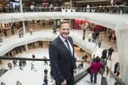 «Die Eröffnung ist die Belohnung für unsere Mühen», sagt Mall-Direktor Jan Wengeler. (Bild: Nadia Schärli (Ebikon, 8. November 2017))
