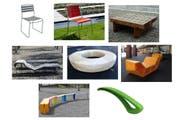 Die Sitzmöbel (jeweils von links): Surprising, Stella, Sol, Landi,Holzring, Enzo, Plico und Pebros. (Bilder: PD/www.statluzern.ch)
