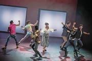Szenen aus dem neuen Musical «95 – Ninety-Five», das zurzeit im Le Théâtre im Gersag läuft. (Bild: Pius Amrein (Emmen, 24. November 2017))