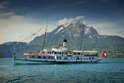 Das Dampfschiff «Stadt Luzern» ist seit Karfreitag wieder auf dem Vierwaldstättersee unterwegs. (Archivbild Pius Amrein)