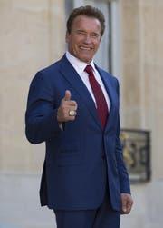 Arnold Schwarzenegger (69). (Bild: EPA/IAN LANGSDON)