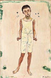 Ferdinand Hodlers «Bezauberter Knabe» (Version von 1905) gehört nun dem Kunstmuseum. (Bild: PD)