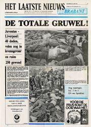 Eine belgische Zeitung titelt am Tag danach: «Der totale Gräuel». (Bild: «Het Laatste Nieuws»)