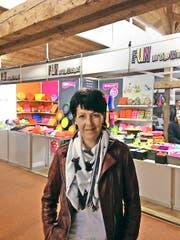 Ruth Henauer (58) kommt aus Dietwil (AG). Bild: Julian Feldmann (Zug, 23. Oktober 2016)