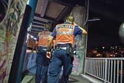 Eine Patrouille der Luzerner Polizei: Laut dem Kommandanten braucht es mehr Personal. (Archivbild: Dominik Wunderli)
