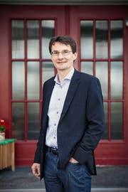 Der Reider Gemeindepräsident Beat Steinmann (FDP). (Bild Adrian Baer)