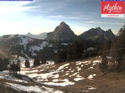 Brünnelistock im Gebiet Mythen im Kanton Schwyz. (Bild: Webcam)