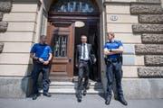 Adi Achermann Gericht (Bild: Keystone/Urs Flüeler, Luzern, 19. Juni 2017)