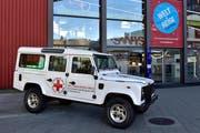 Mobilität im Dienst der Humanität: Eine Sonderausstellung im Verkehrshaus zeigt die «Weltreise Rotes Kreuz». (Bild: Kestone/Photopress/Pius Koller)