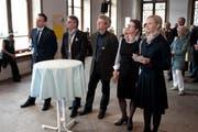 Sie Kandidieren fürs Luzerner Stadtpräsidium: v.l: Marc César Welti, Stefan Roth, Adrian Borgula, Ursula Stämmer und Manuela Jost. (Bild: Dominik Wunderli/Neue LZ)