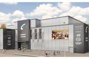 Der neue Haupteingang des Emmen Center. (Bild: pd)