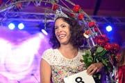 Silvia Hediger aus Sursee ist die Weggiser Rosenkönigin 2015 (Bild: pd / tilllate.com)