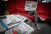 Die acht Luzerner Regierungsratskandidaten haben in den letzten vier Wochen in zehn Zeitungen 260 Inserate geschaltet. (Bild Pius Amrein)