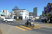 Blick auf den Dorfplatz von Hochdorf. (Archivbild Nadia Schärli / Neue LZ)