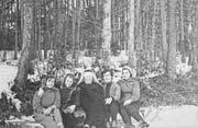 Schulklasse der Frauenschule von 1957. (Bild: PD)
