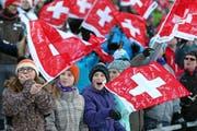Die Organisatoren hoffen wiederum auf viele Zuschauer im Zielraum. (Bild: Philipp Schmidli)