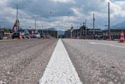 Die Luzerner Seebrücke wurde saniert. (Bild: Dominik Wunderli, Luzern, 14. Juli 2017)
