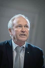 Paul Winiker (SVP), Justiz- und Sicherheitsdirektor: «Wir müssen künftig alles daransetzen, verlässliche Budgets zu erstellen.» (Bild: Pius Amrein (Neue LZ) (Neue Luzerner Zeitung))