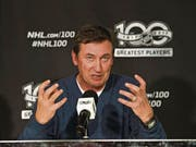 Wayne Gretzky, NHL-Jahrhundert-Botschafter: «So vieles, was ich in meinem Leben habe, verdanke ich dem Eishockey und der National Hockey League.» (Bild: Nathan Denette / AP)