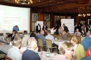 Generalversammlung der Sportmittelschule Engelberg (Bild: Ulrich Naumann [un])