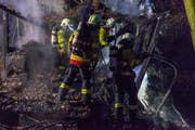 Die Brandursache ist noch unklar. (Bild: Feuerwehr Stadt Luzern)