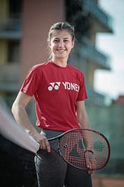 Macht international auf sich aufmerksam: Kristina Milenkovic. (Bild: Pius Amrein (Neue LZ) (Luzerner Zeitung))