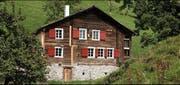 Das Haus Tannen in Morschach. (Bild: Foto: Schweizer Heimatschutz/Nathalie Bissig)