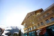 Die Baustelle des Hotels Chedi, das anfangs Dezember eröffnet werden soll. (Bild: Manuela Jans / Neue LZ)