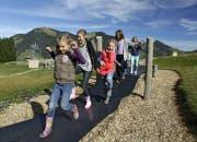 Der Moorwasserpark erfreut vor allem Kinder. (Bild: PD)