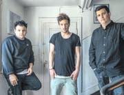Mike Walker, Luzi Rast und Fabrizio Zihlmann (von links nach rechts) sind GeilerAsDu. (Bild: Özlem Petri)