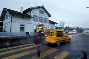 In Sursee wird das Bahnhofgebäude saniert und das SBB Reisezentrum rundum erneuert. (Bild: Archiv Neue LZ)