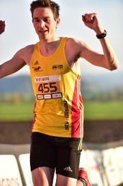 Andreas Meier beim Zieleinlauf. (Bild: PD)