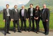 Die Gründer der Nidwalden AirPark AG. (Bild pd)