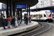 Bahnhof Zug. (Bild: Werner Schelbert)