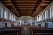 Innenansicht der Kirche St. Joseph. (Bild: Pius Amrein (Perlen, 22. August 2017))