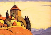 Ausschnitt aus dem Cover des neuen Buches über die Geschichte des Schlosses Heidegg. (Bild pd)