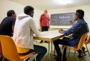 Deutschunterricht für Asylbewerber aus Eritrea. (Archivbild: Philipp Schmidli)